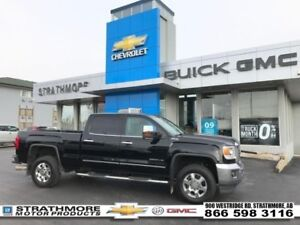 2015 GMC Sierra 3500HD Diesel-SLT-Heat/Cool Leather-Sunroof