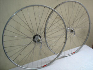 SET OF MAVIC SPORT TUBULAR 700c WHEELS