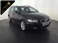 2012 VOLVO V50 SE LUXURY EDITION DRIVE ESTATE 2 OWNERS FULL HISTORY FINANCE PX