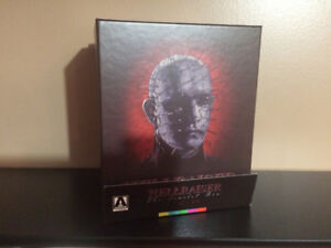 Hellraiser Scarlet Box Blu ray Tales From the Crypt DvD