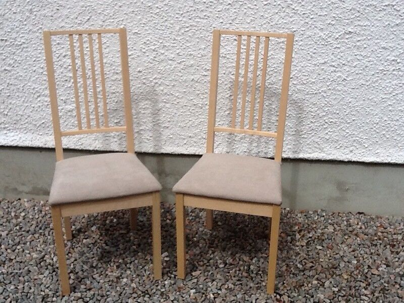 Remarkable Pair Ikea Borge Beech Dining Chairs In Munlochy Highland Gumtree Pdpeps Interior Chair Design Pdpepsorg