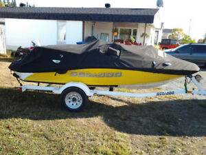 Bateau see doo sportster 155HP 4 temps E-tech 4 places 2006