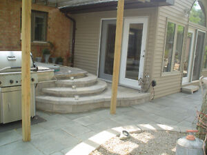PAVING STONE, PATIOS, STONEWORK, BUILT-IN BBQS, HOT TUB AREAS London Ontario image 2