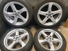 17 inch 5x112 genuine Audi A3 alloy wheels