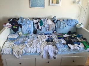 65$ Negotiable Sale Lot clothes BABYBOY approx.80 pcs 0-3 months