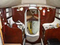 Yacht for sale - 25 Foot Westerly Windrush, 4-berth bilge-keel cruiser