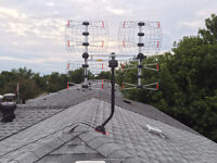 Professional HD TV Antenna installation service. 416-613-8184