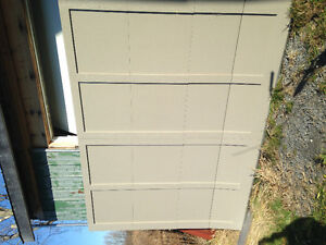 10x7 Recessed Garage Door For Sale *New