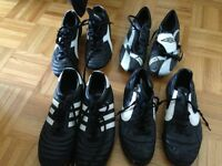 Various Mens Indoor & Outdoor Soccer Shoes used