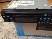 Clarion car stereo head unit CD player