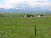 SW Alberta Acreage Oldman River Valley