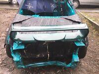 Subaru Impreza rear spoiler