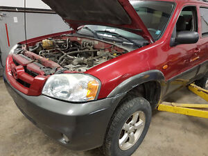 2005 Mazda Tribute SUV,part out