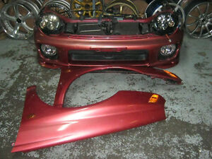 nosecut with fenders for subaru wrx v7,,,on sale till 15th aug