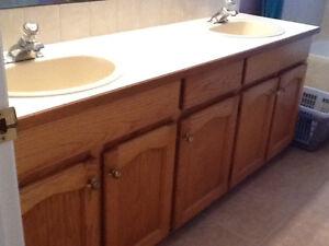 Free Washroom Cabinet Counters