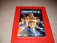 FANTASTIC FOUR 1 & 2/STARSHIP TROOPERS DVDS FOR SALE!
