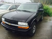 2005 Chevrolet Blazer SUV, Cert e test 2900$ pls tax