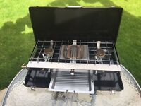 Outwell 3 Burner Appetizer Cooker with Grill