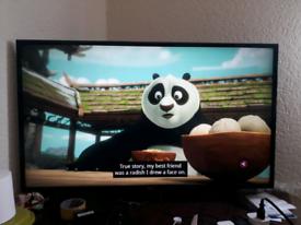 LG 43 inch LG LED HDTV with Chrome Cast 43LH510V-ZE