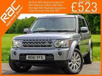 2011 Land Rover DISCOVERY 4 – 3.0 SDV6 Turbo Diesel HSE 4x4 7 Seater Auto TV R