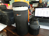 sigma 70-300 lens with new lowepro lens case LC2