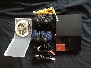 PS2 system and accessories