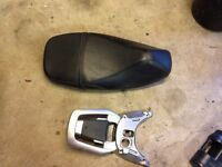 Vespa GT 125 seat and. Luggage carrier