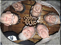 Ophmi Rocker! The greatest band in rock n roll history BOOK NOW!