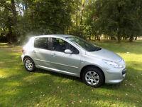 2006 56 reg Peugeot 307 1.6 16v ( 110bhp ) S netherton cars