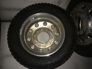 19.5 Alcoa dodge 5500 rims and tires