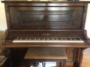 Schaeffer upright piano
