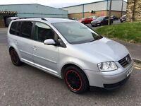 Volkswagen Touran 1.9 Diesel 7 Seater Long MOT swap px welcome