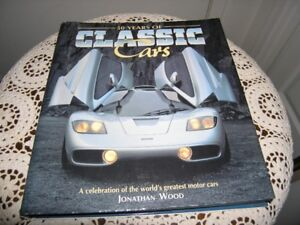 50 YEARS OF CLASSIC CARS HARDCOVER BOOK