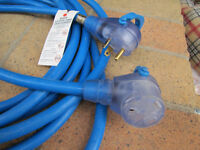 25 FT 30A RV EXTENSION CORD, LIKE NEW $45.00 (save 20 bucks)