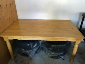 4 Seater Wooden Dining Table for Sale in Pickering