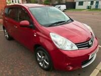 2011 Nissan Note 1.4 N-Tec 5dr, Sat Nav, 3 Owners, Full years Mot, Cruise Contro