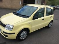 2011 Fiat Panda 1.2 Euro V Active Yellow 5 Door 51178mls MOT 12m
