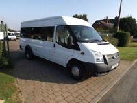 2012 12 Ford TRANSIT 135 T430 17 Seat Minibus