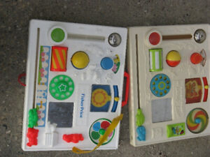 Interactive Baby Toy (two items)