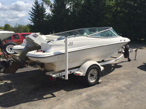 Thundercraft Storm 17ft bowrider with 135hp evinrude