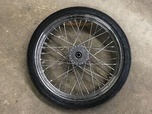 "21"" Spoked Rim with Avon Speedmaster Mark II Tire"
