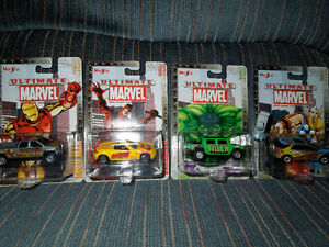 MARVEL DIE CAST VEHICLES