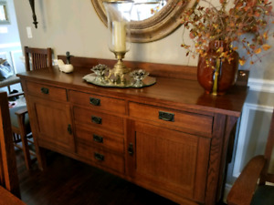 Mission Style Solid Wood Buffet