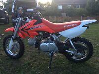 Motocross bike. Dirt bike