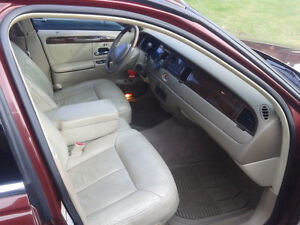 2000 Lincoln Continental Cuir Berline