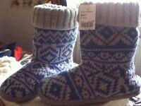 Brand new boot slippers