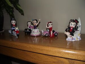 betty boop and disney salt and pepper shakers
