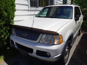 2002 Ford Explorer Limited V8 SUV, Crossover