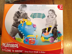 Learn to walk with & Ride on car- Unisex $20.00