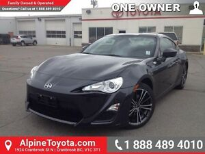 2015 Scion FR-S 2DR CPE MAN   One owner, no accidents, low km, d